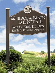 Black & Black Dental, Willow Street Lancaster PA Pennsylvania dentist, also serving Strasburg, Quarryville, Millersville and the surrounding areas